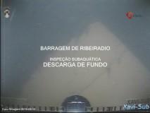 Barragem Ribeiradio - Descarga de fundo