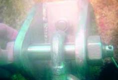 Reparações metalomecânicas em estruturas submersas