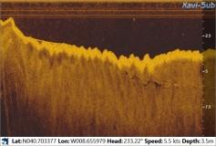 Inspecção com Sonar de Varrimento Lateral